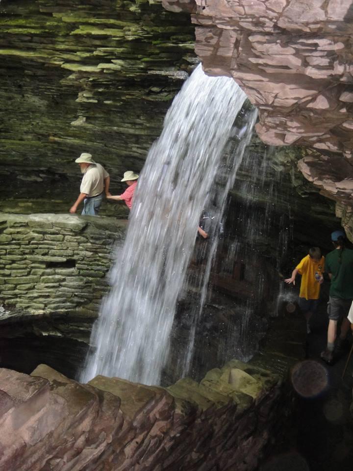 watkins glen water fall