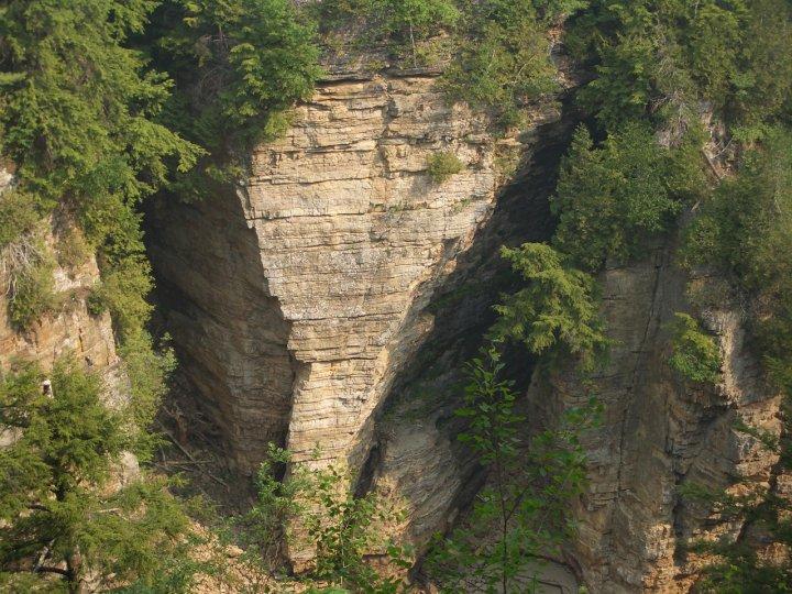 elephant head, ausable chasm