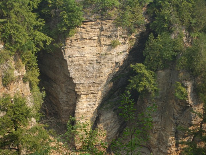 elephant head, ausable chasm