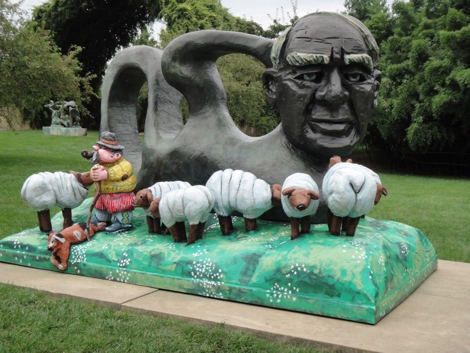 sculpture grounds