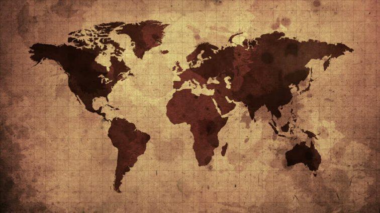 worls map